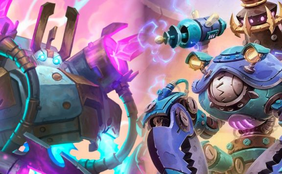 Hearthstone Mechs zilliax sni1psn4p title 1140×445