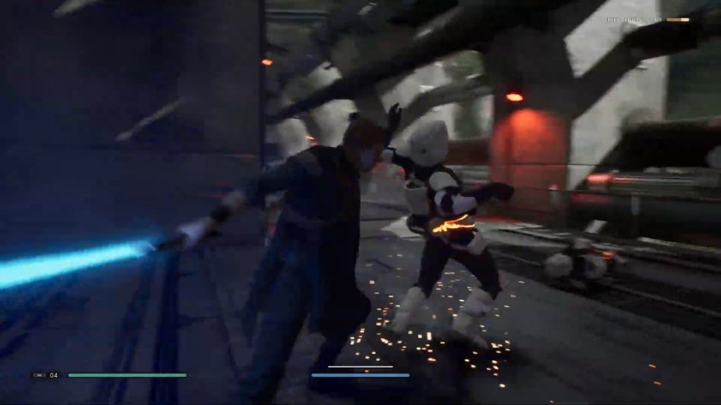 Screenshot aus dem E3-Trailer zu   Star Wars Jedi: Fallen Order
