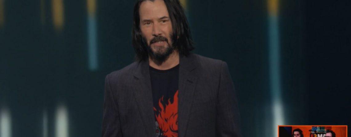Keanu Reeves war für Kids plötzlich nur noch der Fortnite-Typ und es irritierte ihn