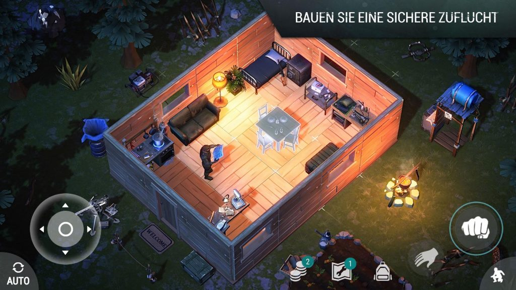 Last Day on Earth Mobile Gameplay Basis bauen