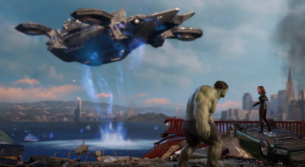 Marvel's Avengers Schiff