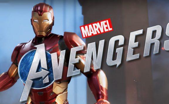 Mavel's Avengers Iron Man Titel
