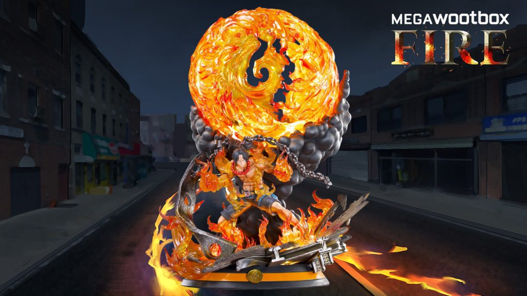 Megawootbox-Fire-One-Piece-Figur