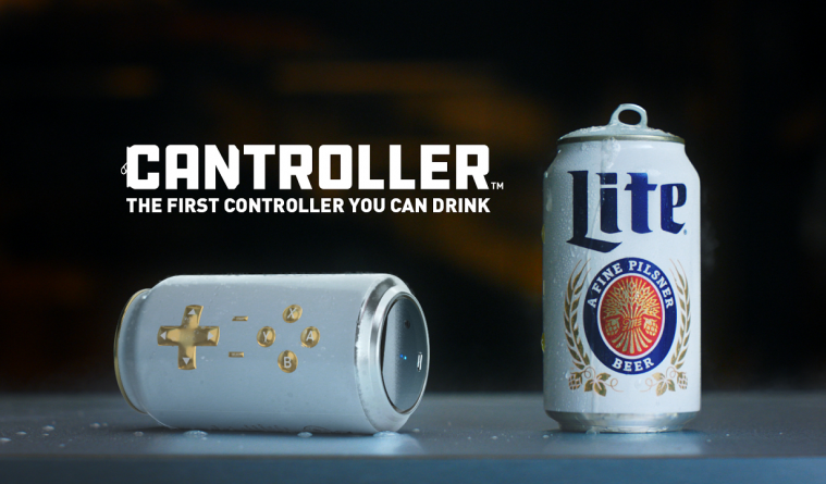 Bier-Firma erfindet Gaming-Controller, den man trinken kann – Funktioniert für PC, PS4, Xbox
