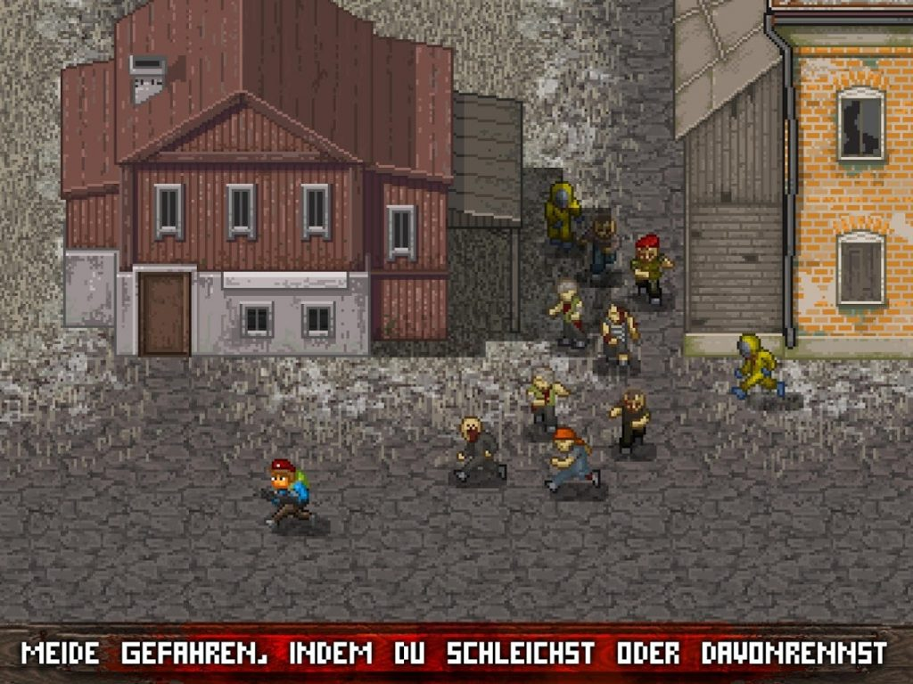 Mini DAYZ Mobile Gameplay Fliehen oder Kämpfen