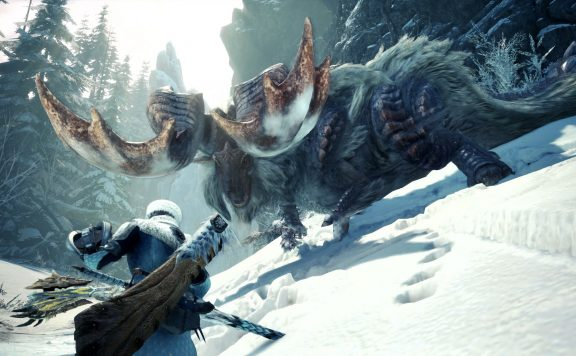 Monster-Hunter-World-Iceborne-Kampf