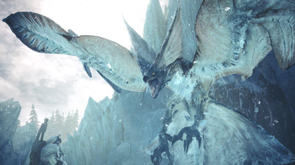 Monster Hunter World Kreischende Legiana