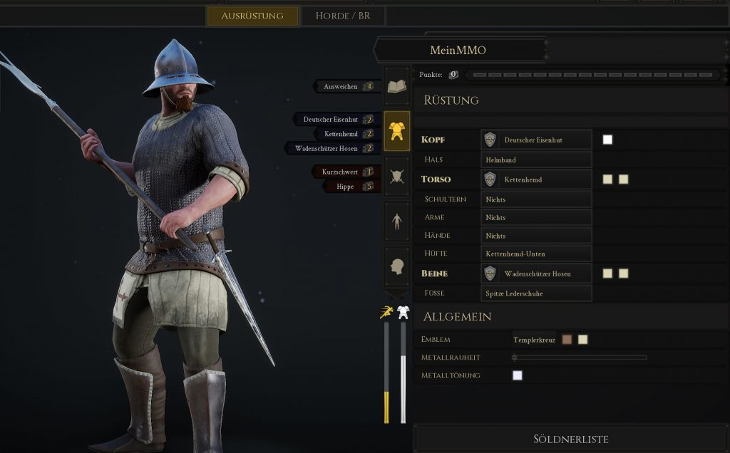 Mordhau Build Allrounder