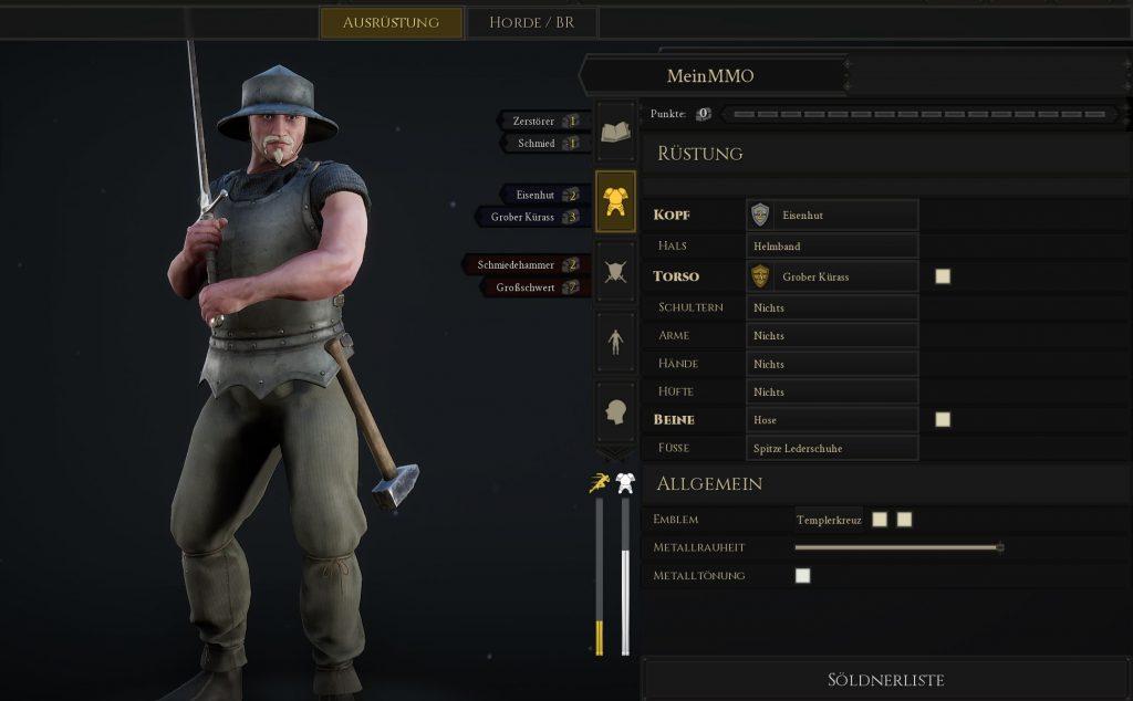 Mordhau Build Baumeister