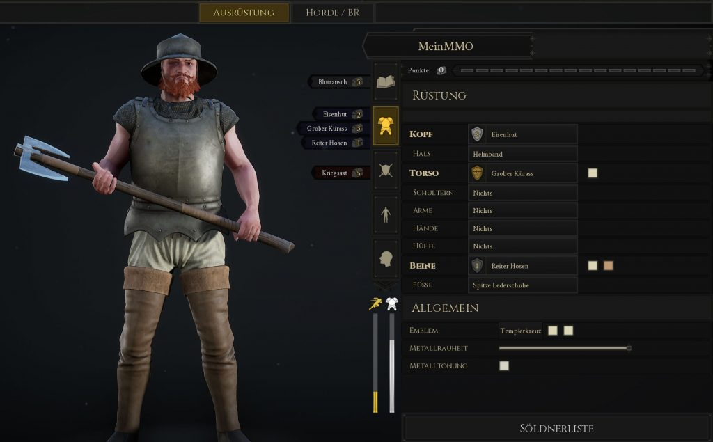 Mordhau Build Berserker