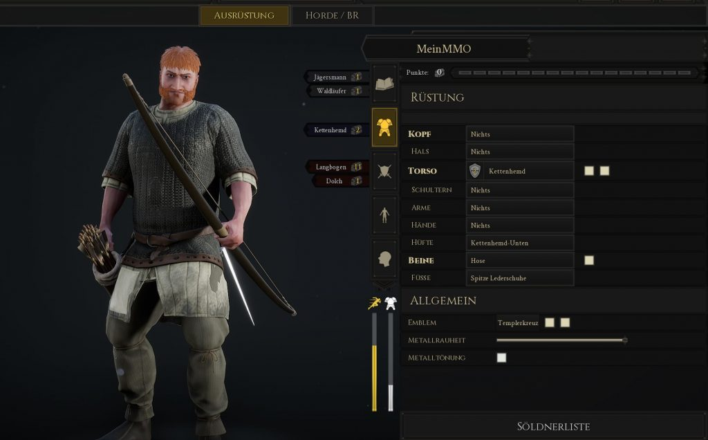 Mordhau Build Jagdmeister