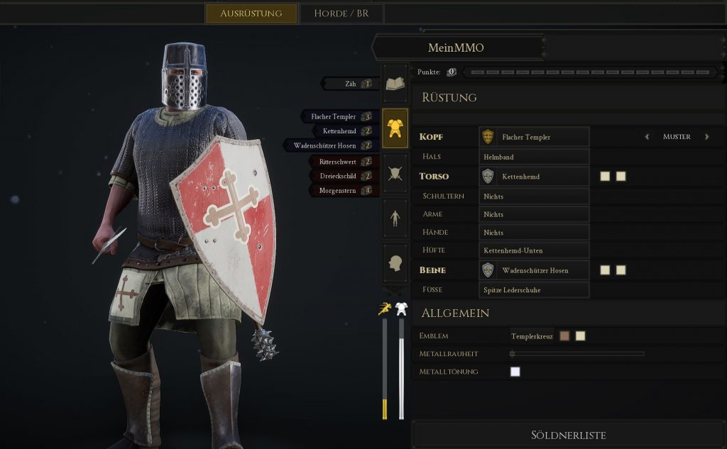 Mordhau Build Kreuzritter