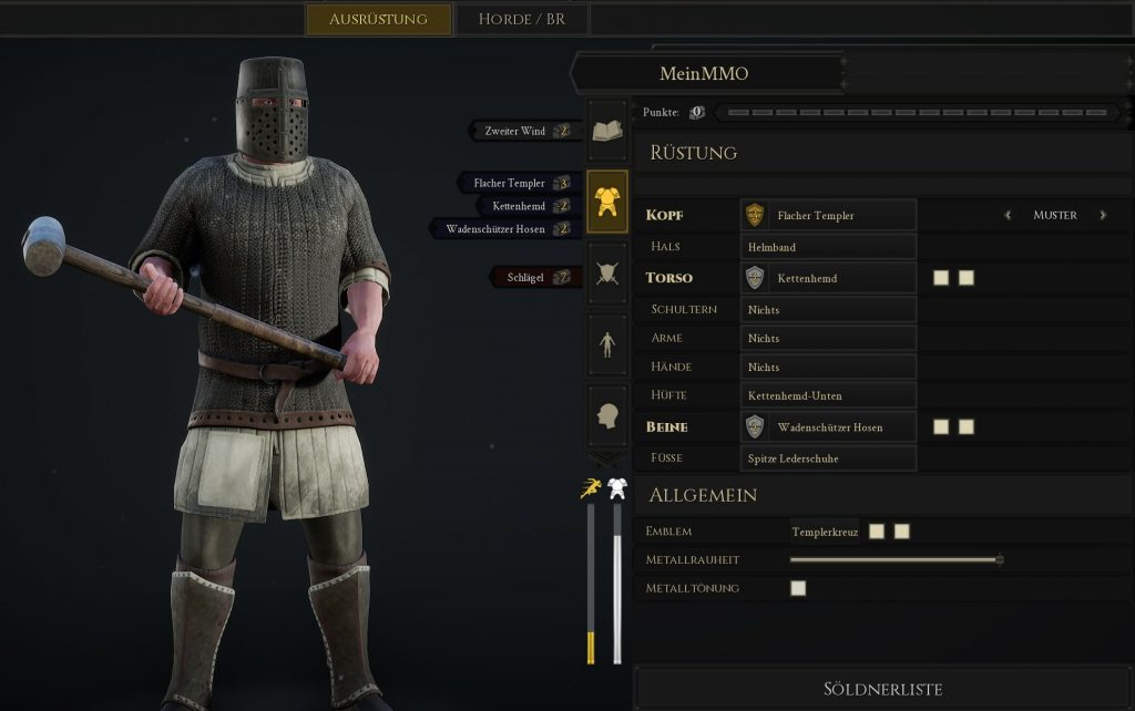 Mordhau Build Panzerbrecher