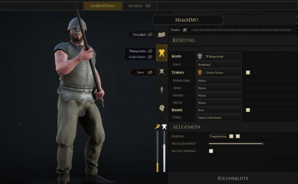 Mordhau Build Ritter