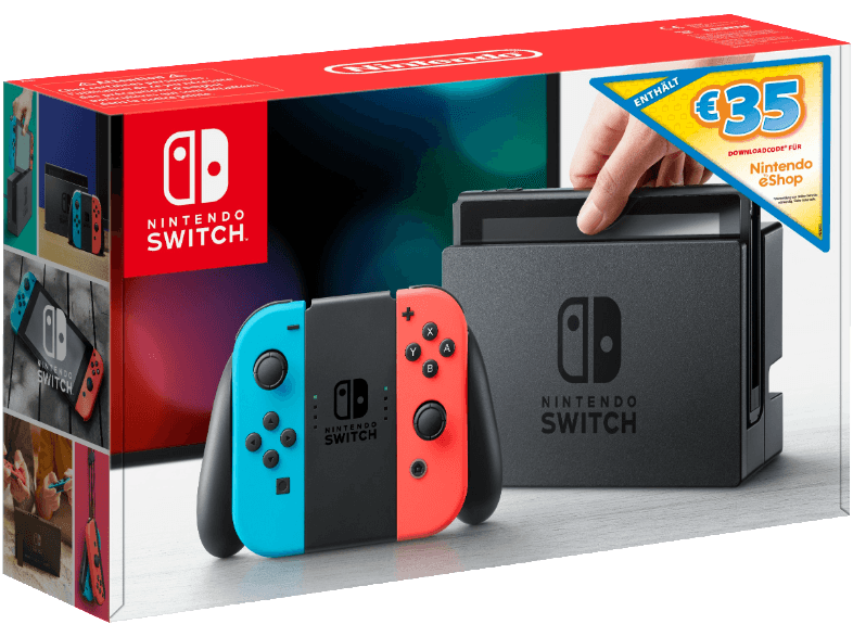 Nintendo Switch Bundle eShop Guthaben