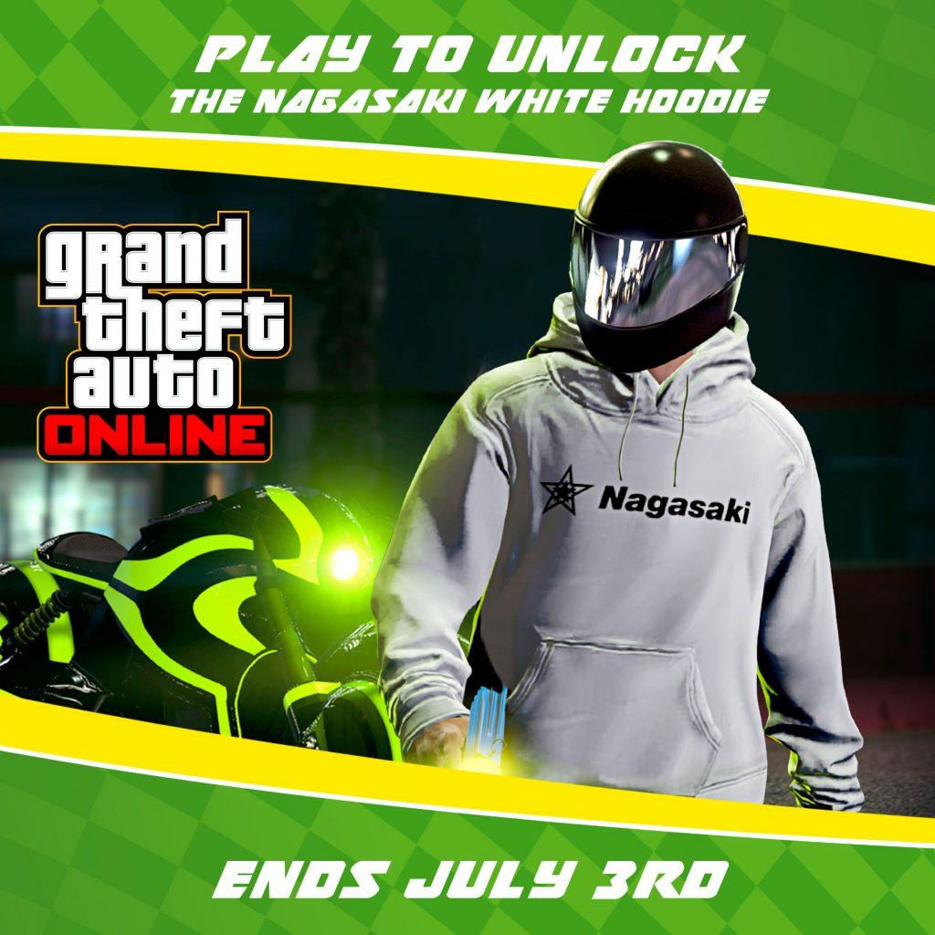 GTA Online Nagasaki Hoodie