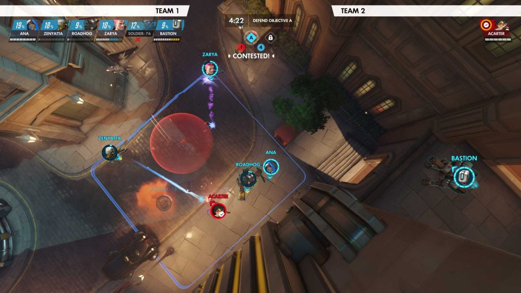 Overwatch Replay Modus VOgelperspektive
