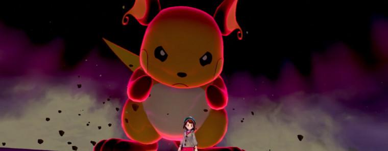 Pokemon Raichu Schwert Schild Raid