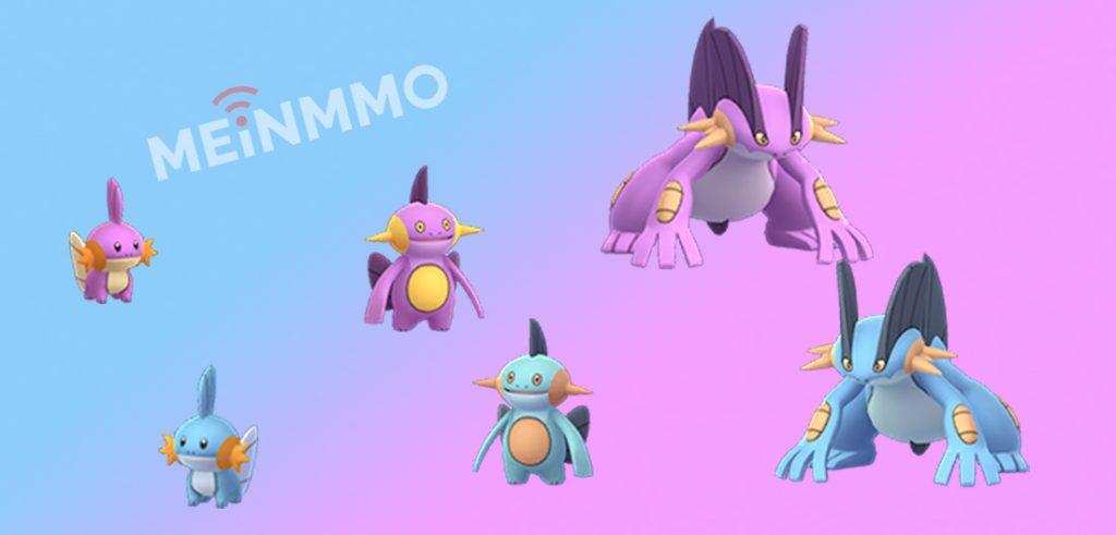 Shiny Hydropi Familie