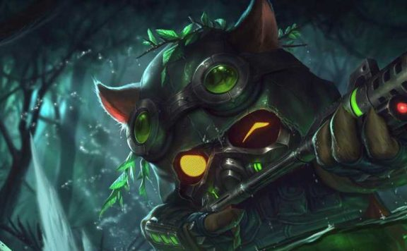 Sniper Teemo League of Legends LoL Titel