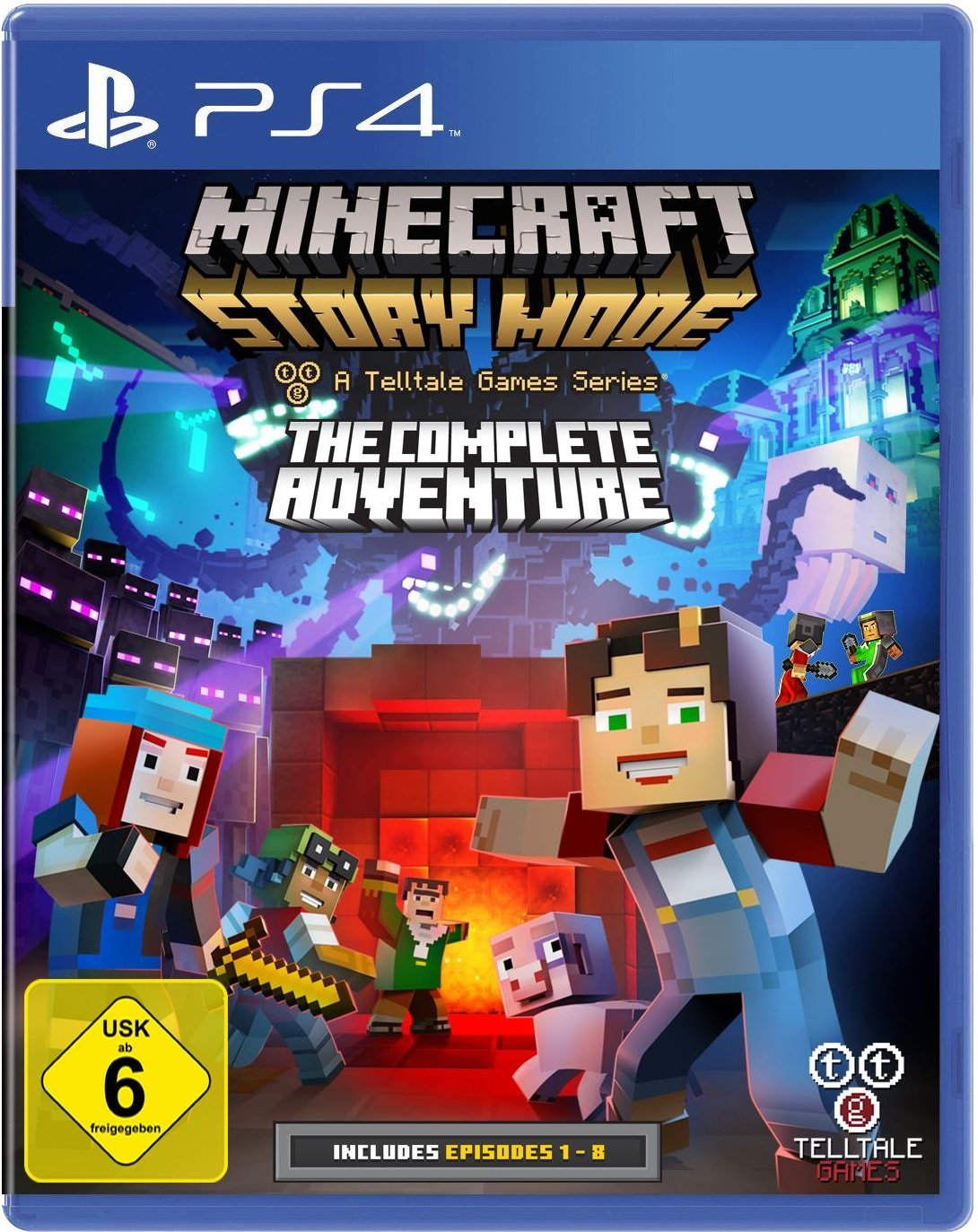 Minecraft: Story Mode Plattformen