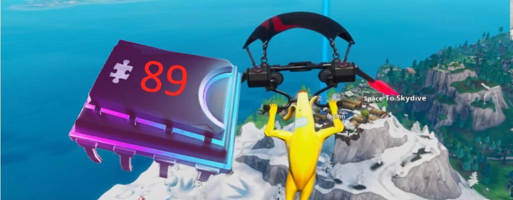 Fortnite: Für Fortbyte #89 mit Scharlachschlag-Gleiter durch Ringe fliegen – So geht's