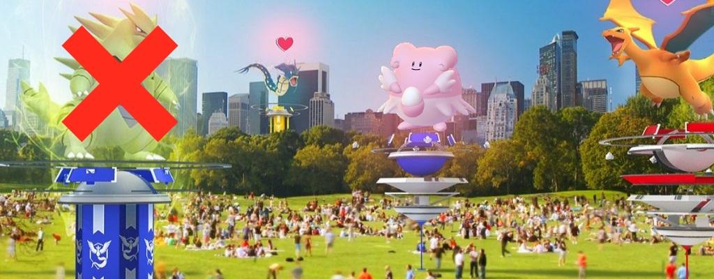 Pokémon GO: Deshalb solltet ihr niemals Despotar in eine Arena setzen