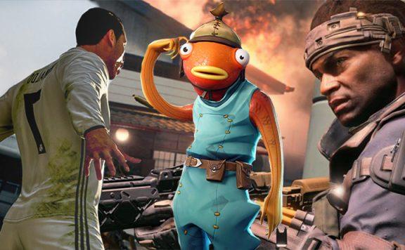 Top Spiele Mai Titel Fortnite, Black Ops 4, FIFA 19
