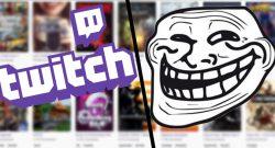 Twitch gegen Troll Titel