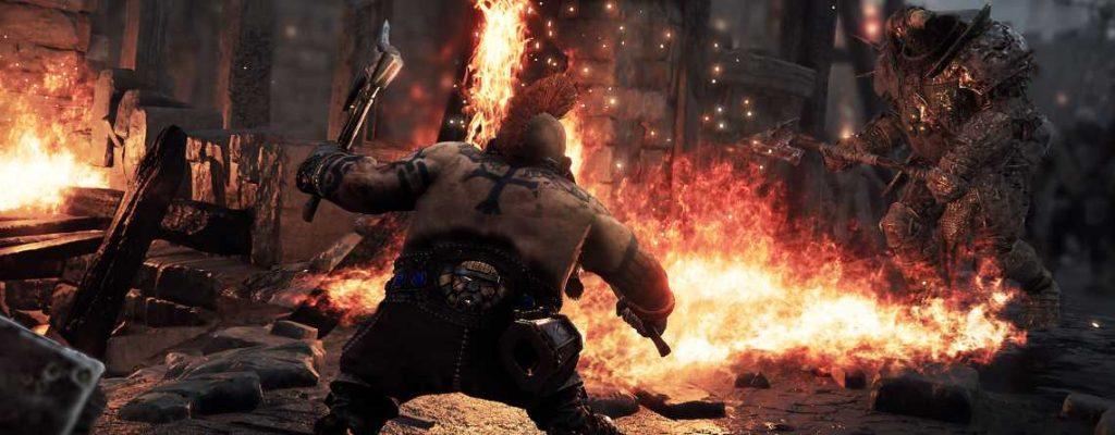 Warhammer Vermintide 2 Slayer gegen Rothelm Titel