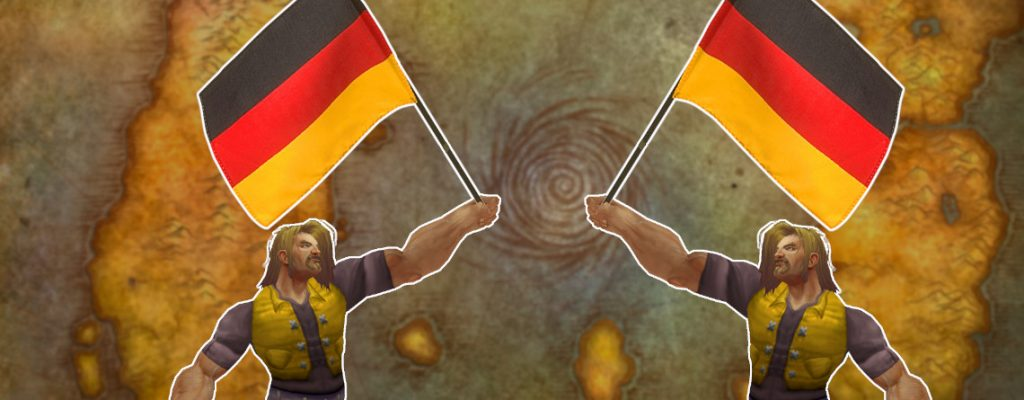 WoW Flagge Deutsch Human title 1140x445