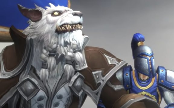 WoW Greymane mildly confused alliance soldier title 1140×445
