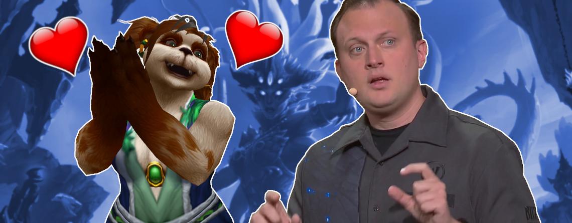 Der Game Director von World of Warcraft kann ja doch sympathisch sein