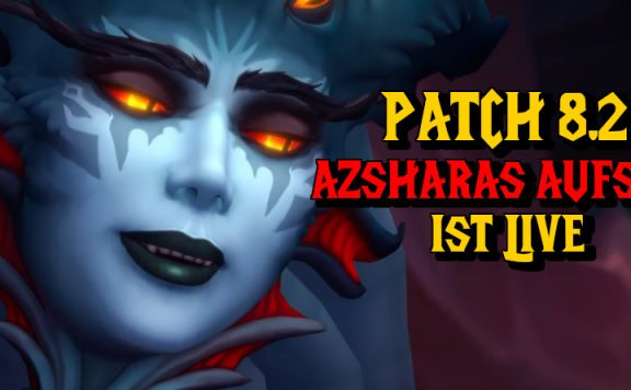 WoW Patch 82 ist live title 1140×445
