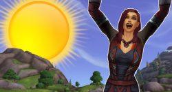 WoW Sun human female cheer title 1140×445