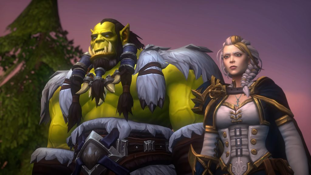 WoW Thrall Jaina not so happy days 2