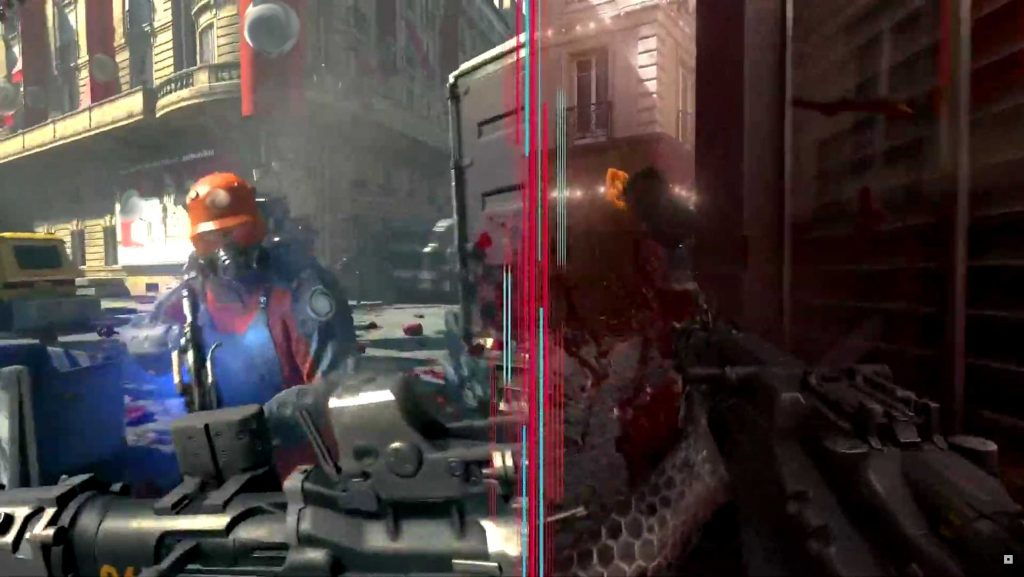 Wolfenstein Bethesda Splitscreen 2 zensiert 2
