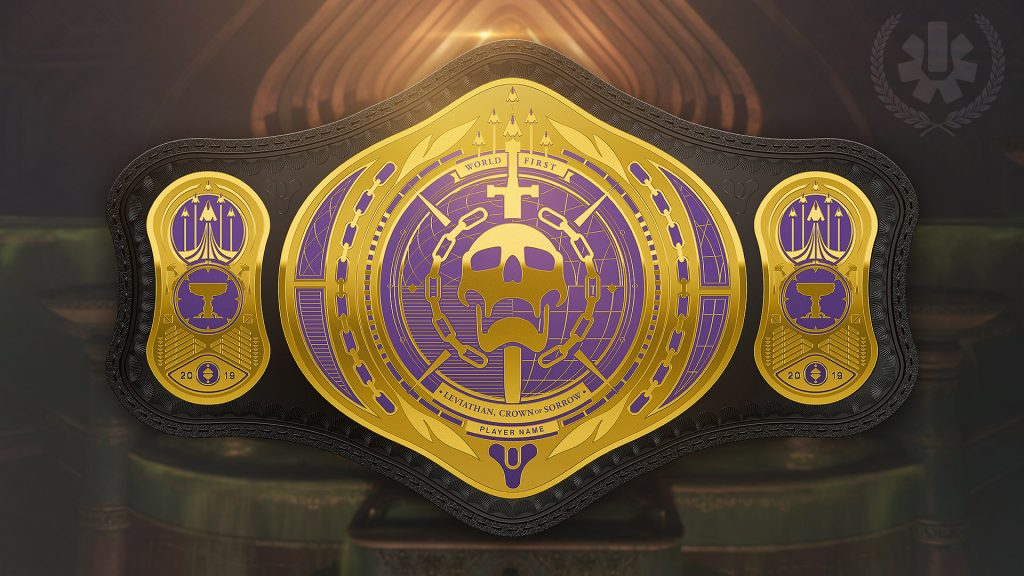 Destiny 2 World First Belt
