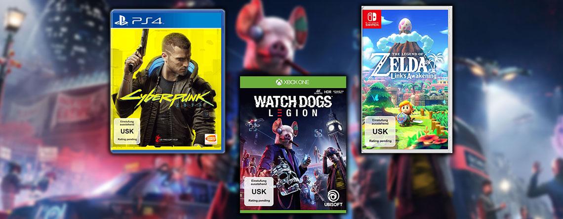 Cyberpunk 2077, Zelda: Links Awakening und weitere E3-Hits jetzt vorbestellen