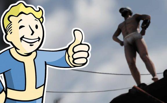 Fallout 76 TighteyWhiteyMan Unterhose