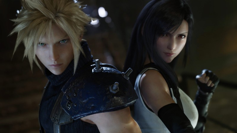 ffvii remake tifa cloud