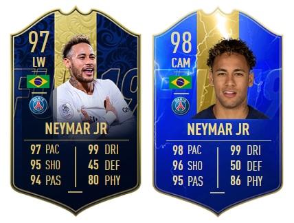 Neymar-TOTY VS Neymar-TOTS