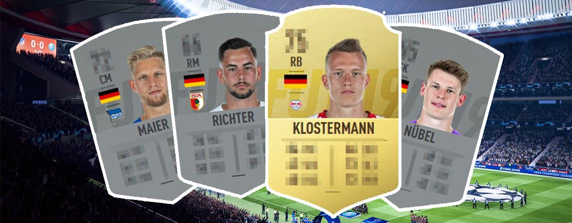 FIFA 19 Talente: Wie stark sind die Stars der deutschen U21 und was ist ihr Potential?