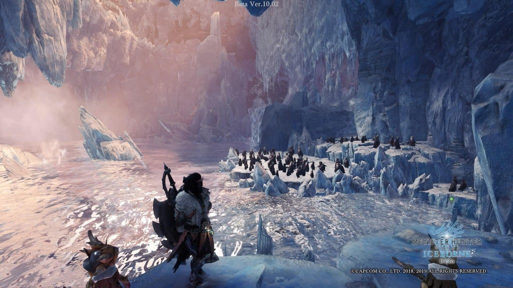 monster hunter world iceborne pinguine