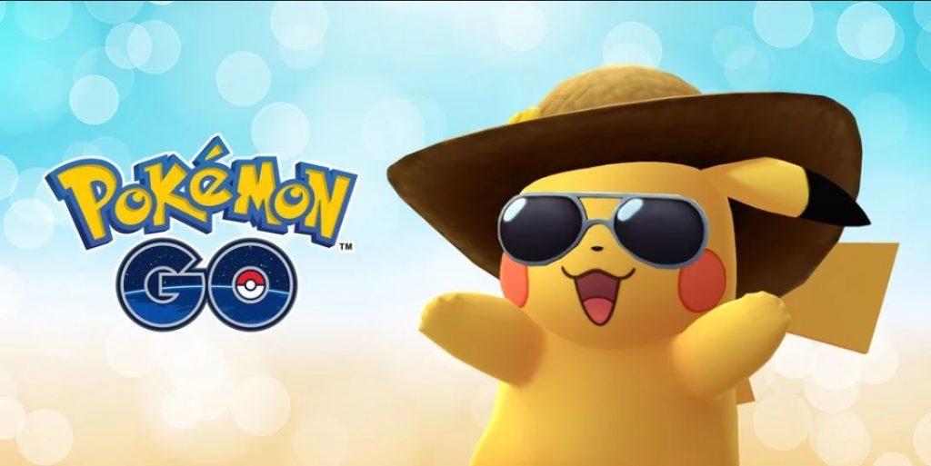Pokémon GO Sommerhut Pikachu