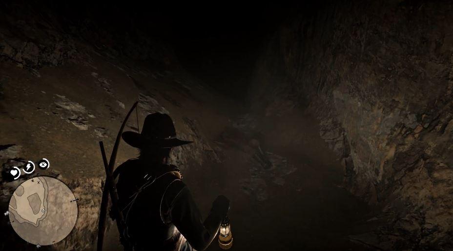 Red Dead Redemption 2 weißer Puma Höhle