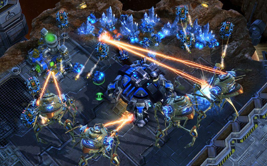 Screenshot aus Star Craft 2