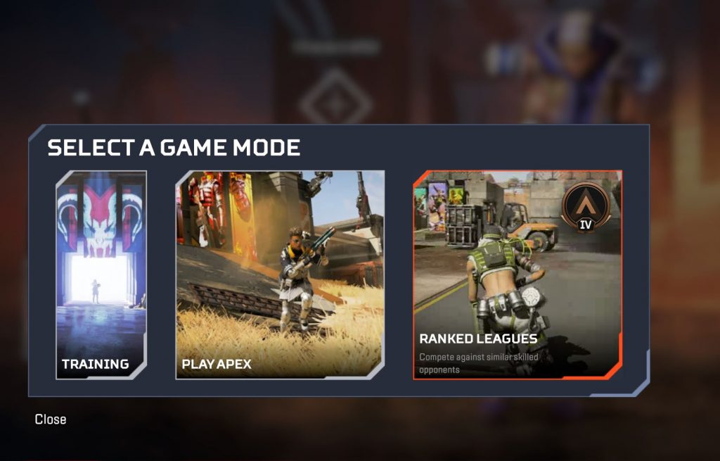 Apex Legends Ranked Auswahl 2