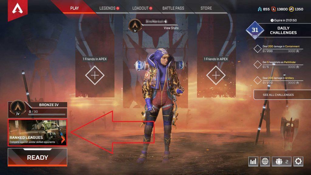 Apex Legends Ranked Auswahl 3