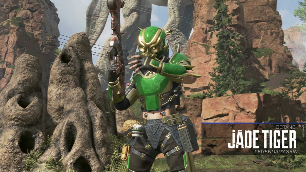 Apex Legends Season 2 Skin Jade Tiger Octane